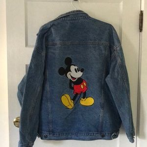 Denim truckers jacket XL Mickey  Inc. Disney